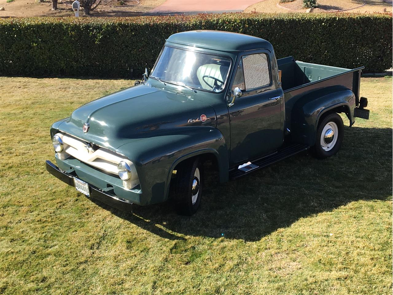 1955 Ford F100 Hits All The Right Nostalgic Notes F250 4x4