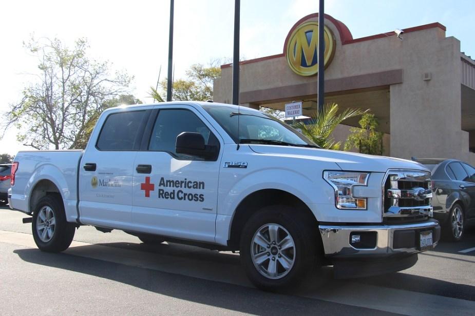 ford-trucks.com American Red Cross Ford F-150