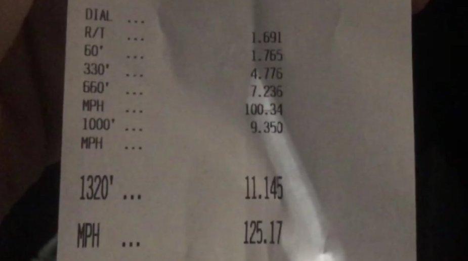 2018 Ford F-150 11.14 time slip