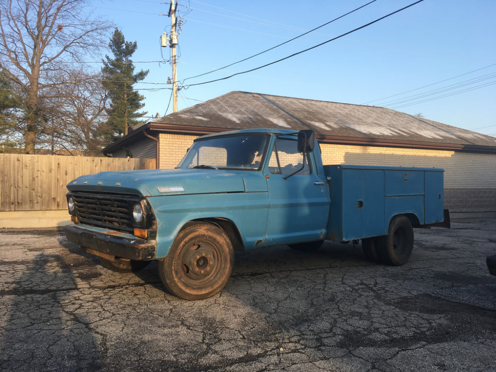 Build A Ford Truck >> What S Up In The Forums 1967 Ford F 350 Utility Build Comes To Life