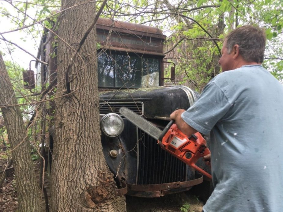 1941 Ford Delivery Truck for Sale: Bring Your Chainsaw!