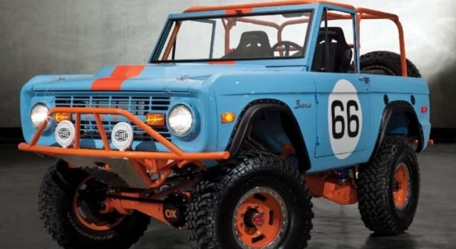 1966 Le Mans Tribute Bronco Front Corner