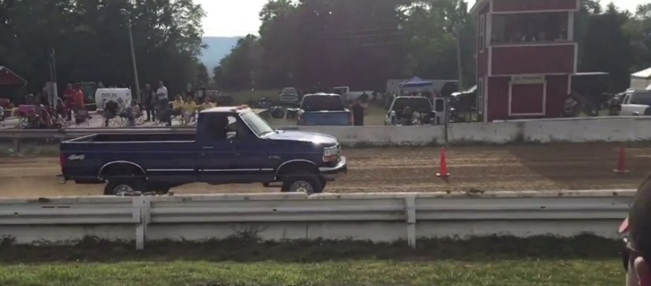 Big Block Ford F-350 Dirt Racer