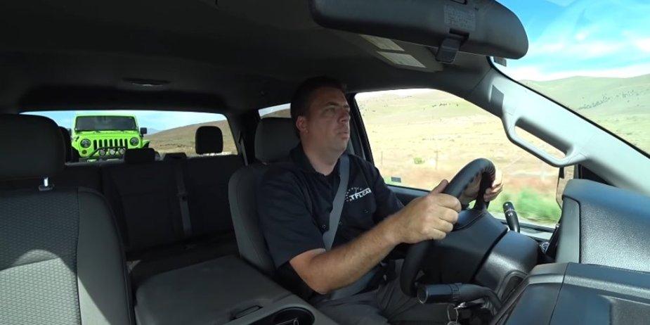 Falcon F-150 Trailer Testing