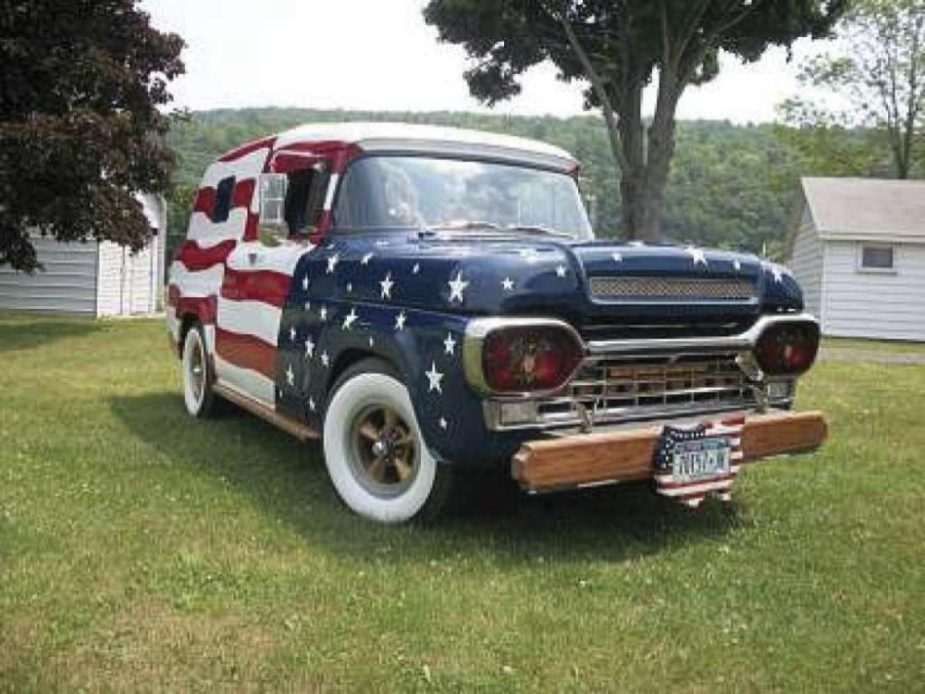 1959 All-American Ford Panel Van