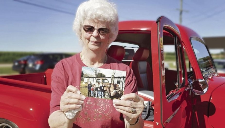 Melody Miller and the 1051 Ford F-1