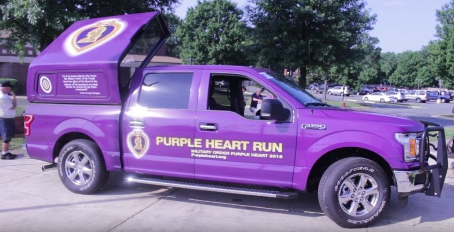 Purple Heart Truck F-150