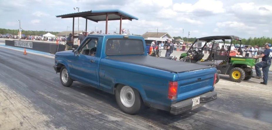 Ranger Race Truck Rear Launch