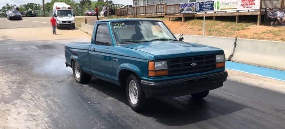 First Gen Ford Ranger Race Truck Front