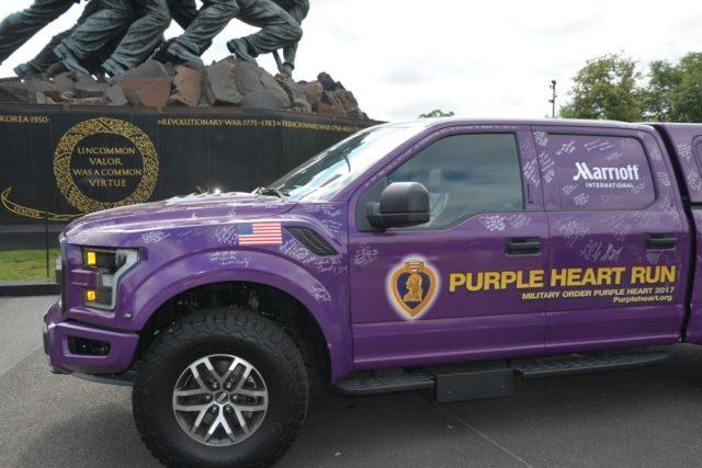 2018 Purple Heart Truck Ford F-150
