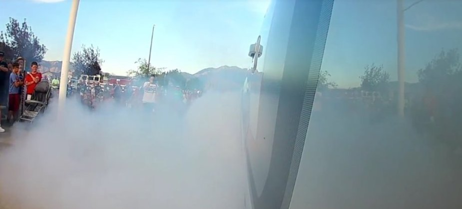F-150 Tremor Burnout On-Truck