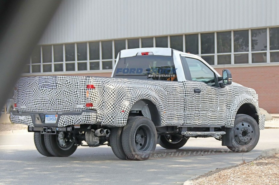 2020 Ford F-350 Super Duty Prototype Spied Testing!