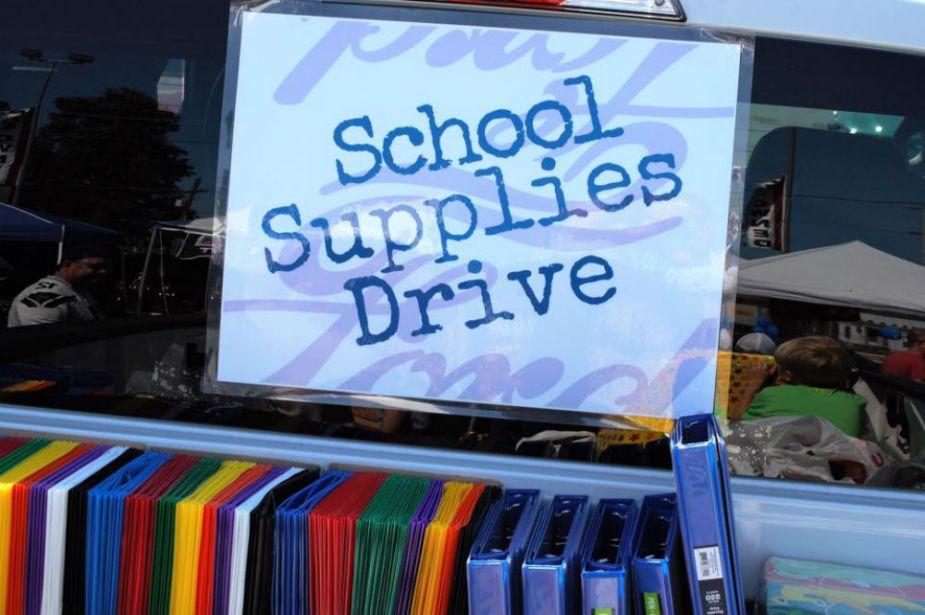 Enumclaw Ford Truck School Supply Fundraiser