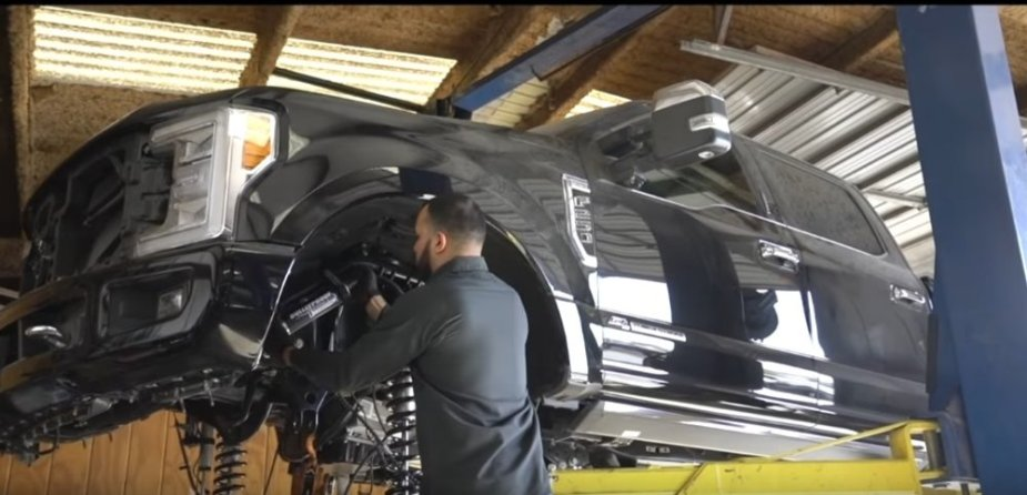 F-250 Being Built