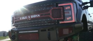 Ford F-250 Boss Grille
