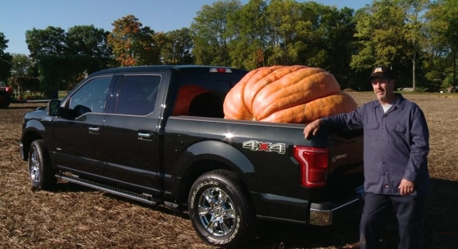 F-150 with a Big Pumpkin