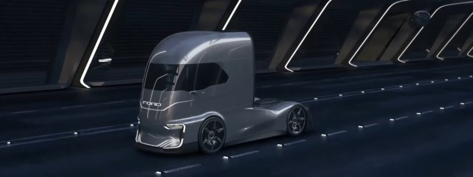 Ford F-Vision in a Tunnel