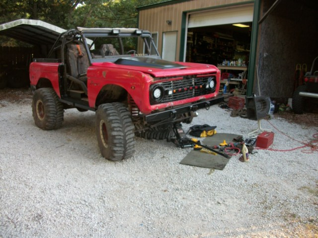 Forum member 77&79F250's 1971 Ford Bronco.