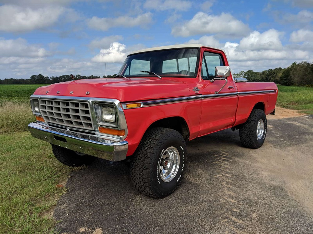 1978 Ford Truck >> 1978 Ford F 150 4x4 Short Bed Is One Beautiful Red Rig