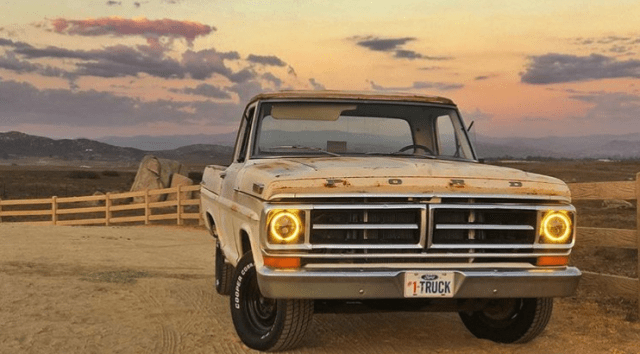 1971 F-100 Demon Eyes