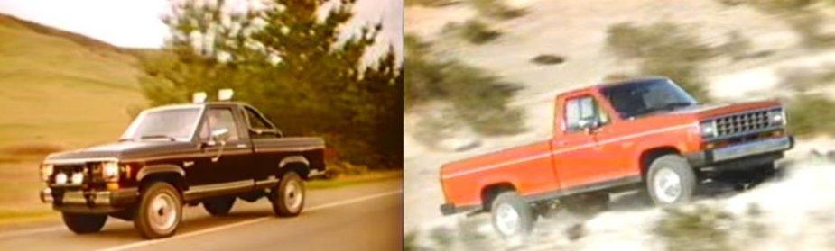 1985 Ford Ranger Off-Roading