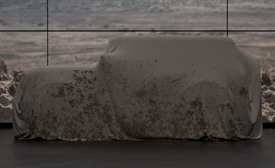2020 Ford Bronco Under Cover