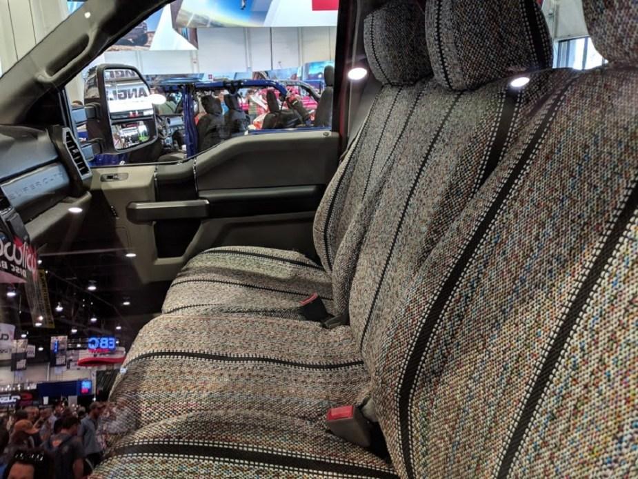 Ford F-250 Super Duty SEMA interior