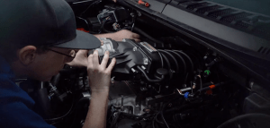 Roush supercharger installation