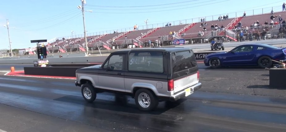Bronco II VS Mustang