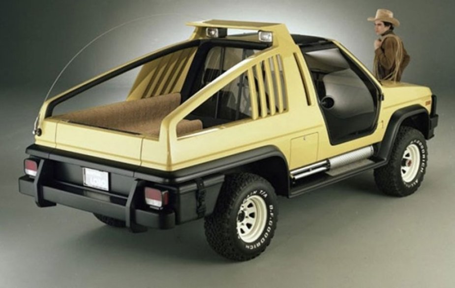 1981 Ford Bronco Montana Lobo Concept Rear