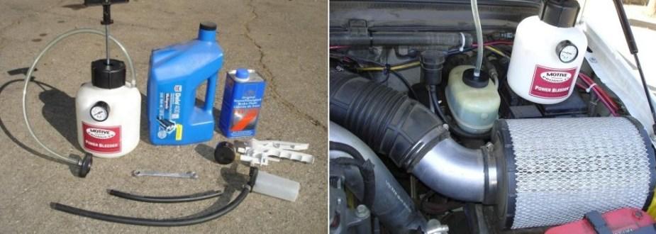 Ford Brake Fluid Change Items