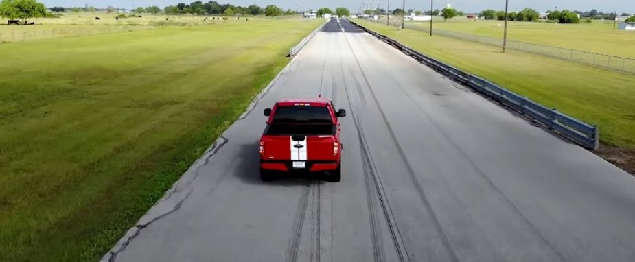 Hennessey Heritage Edition F-150 on Track