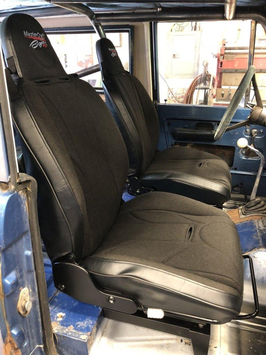 1970 Bronco New Seats