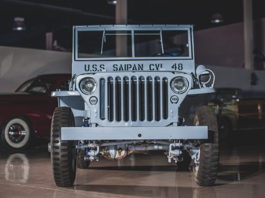 1943 Ford GPW Navy Jeep
