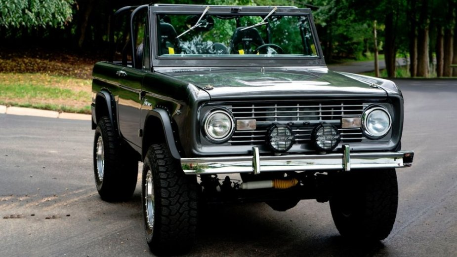 1967 Ford Bronco Front 3/4