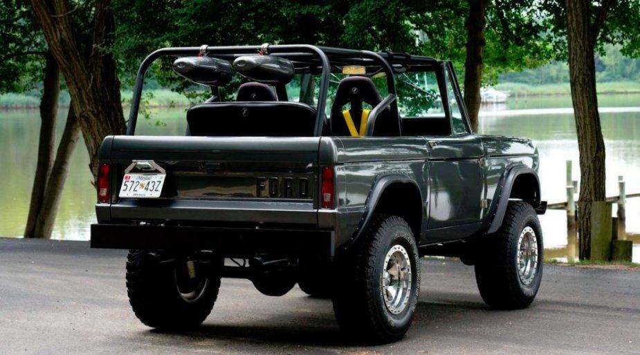 1967 Ford Bronco Rear
