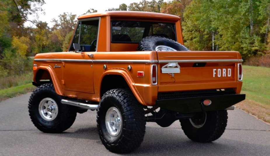 1975 Ford Bronco Rear