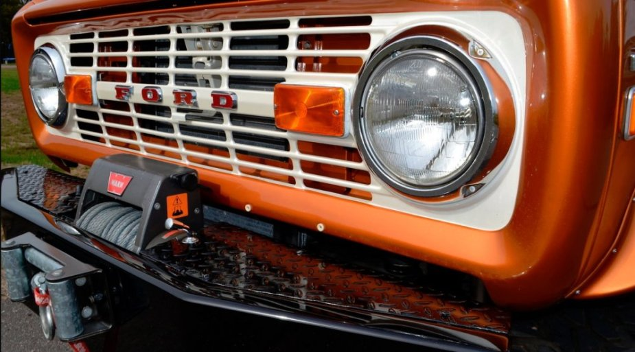 1975 Ford Bronco Front Close