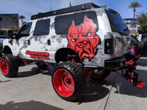 "2003 Ford Excursion ""Project SD-60"" SEMA"