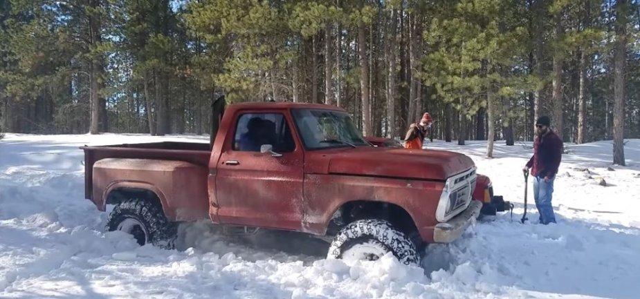 Classic Ford F-Series Stuck