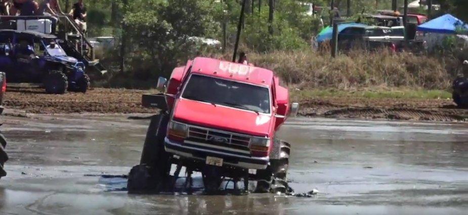 Garza Ford F-350 Mud Truck Entry