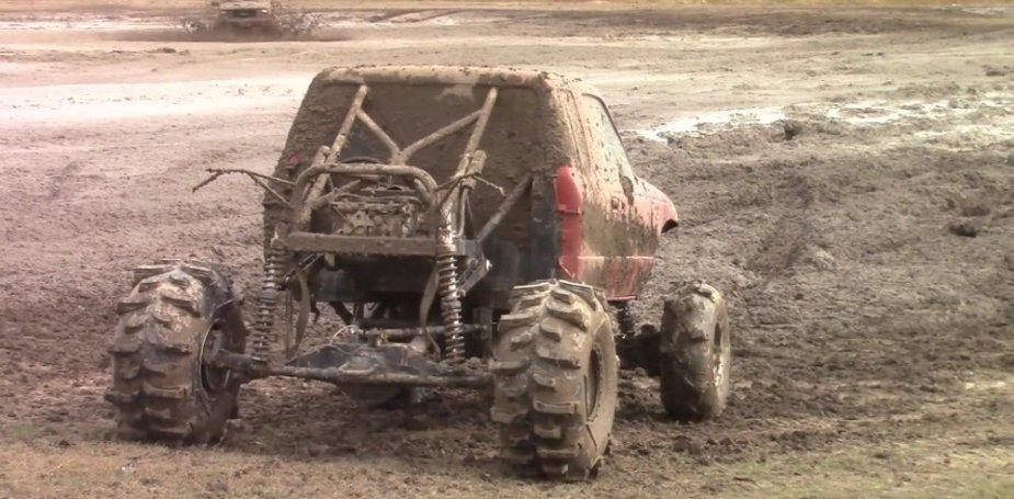Fast Ranger Mud Truck Rear
