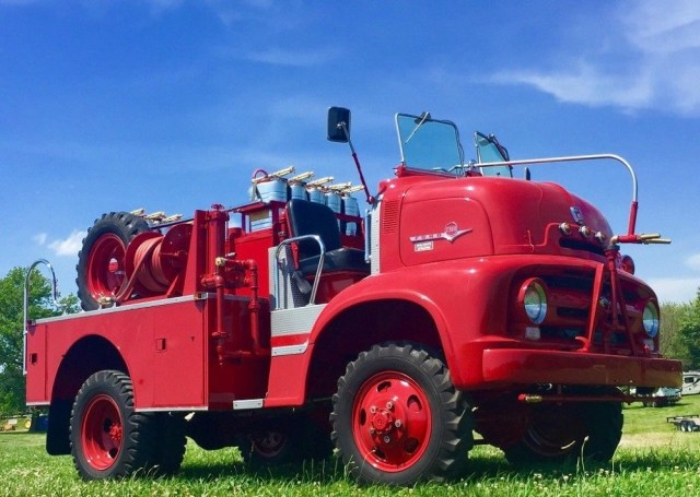 1956 Ford COE Fire Truck