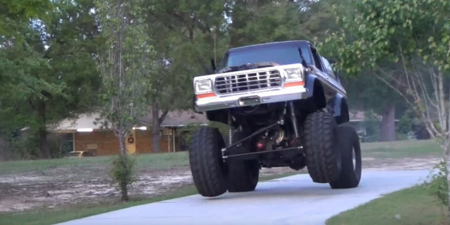 1979 Ford Bronco Wheels Up Launch Front