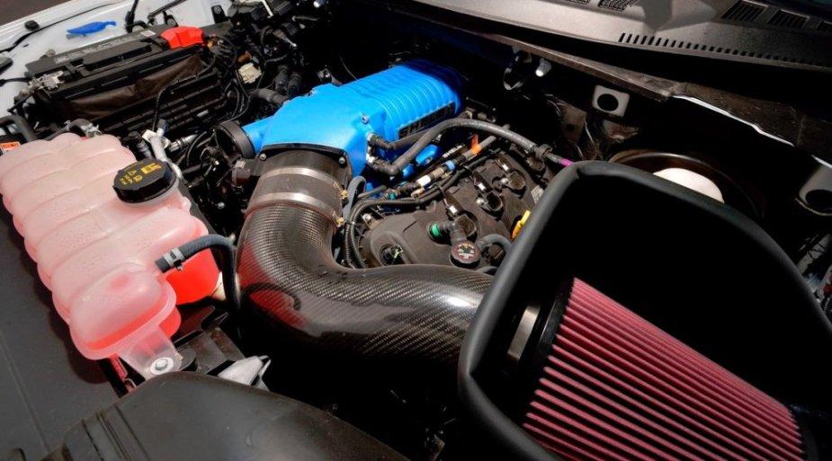 Shelby Super Snake F-150 Engine