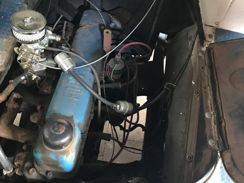 1962 Ford P-350 Engine