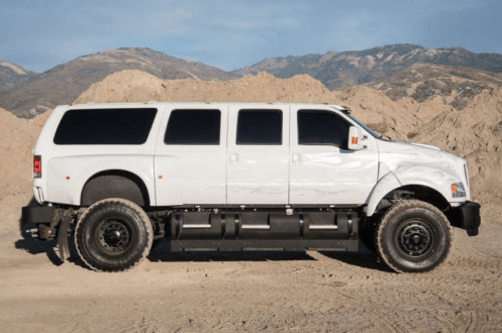 Ford F-650 6-Door Supertruck Cares Nothing About Subtlety