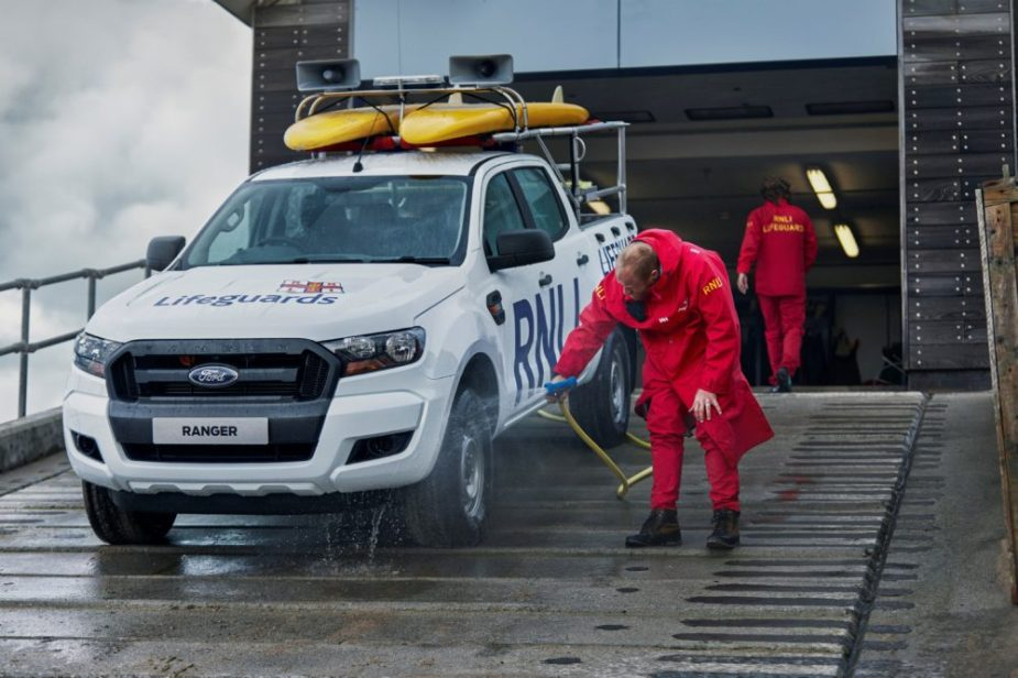 RNLI lifeguards' new patrol vehicle