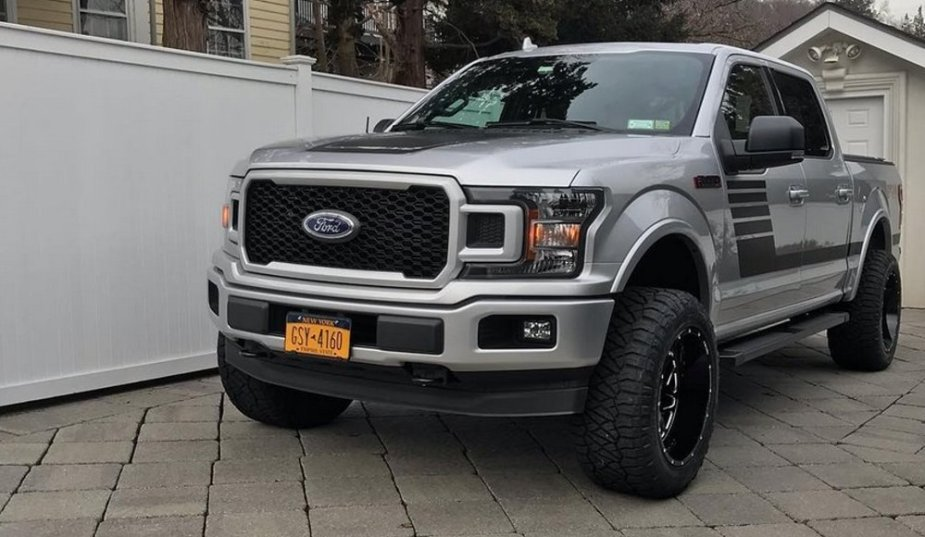 2018 Ford F-150 New Wheels Front
