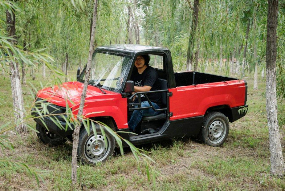Pickman Truck in the Woods